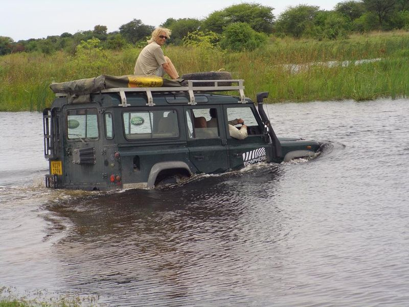 Barry land rover caprivi red 1