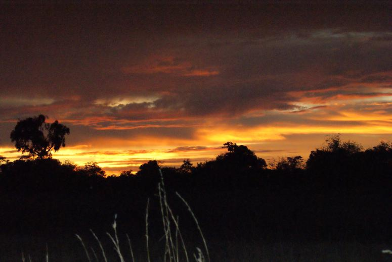 Caprivi sunset red 1